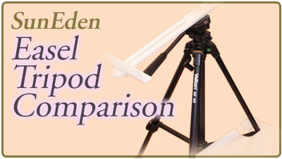 Sun Eden Plein Air Easel Tripod Comparison