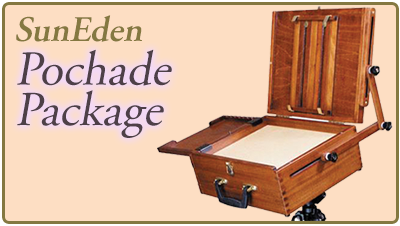 Sun Eden Plein Air Pochade Packages