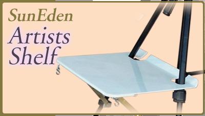 Sun Eden Plein Air Artists Shelf