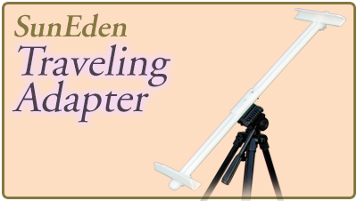 Sun Eden Plein Air Traveling Adapter