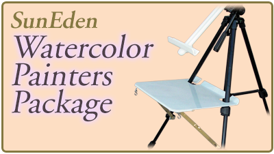 Sun Eden Plein Air Watercolor Painter's Package